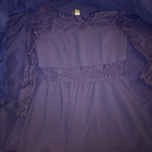 H&M dress, Size 14, see through